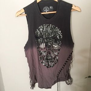 Affliction Cut-out Tank